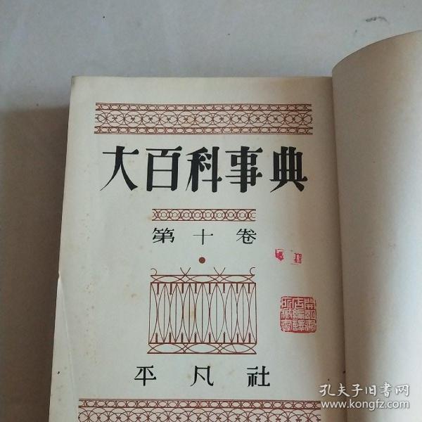 大百科事典【日文】第十卷