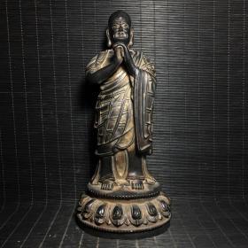 铜袈裟佛像摆件