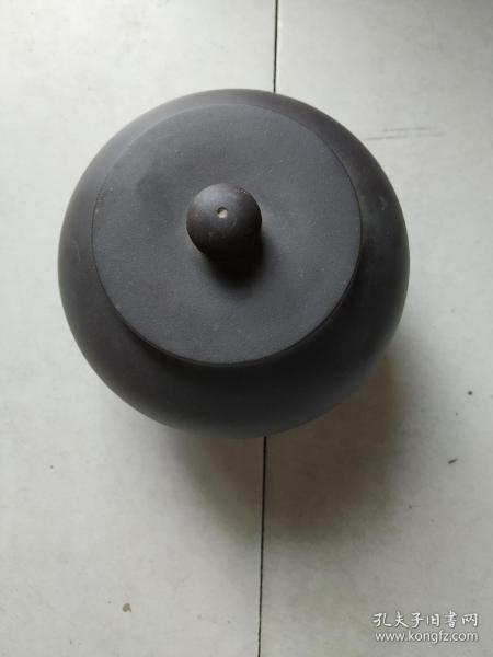 紫砂茶叶罐捂灰烧
