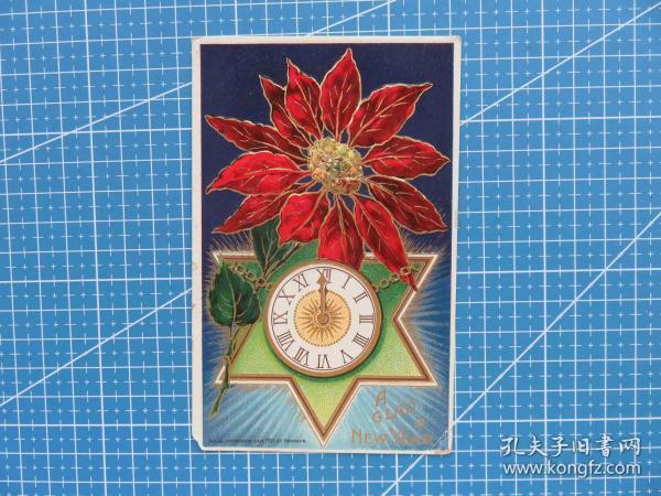 美神之洲--百年美国欧洲贴邮票实寄明信片-收藏集邮-复古手账-外国邮政彩色明信片