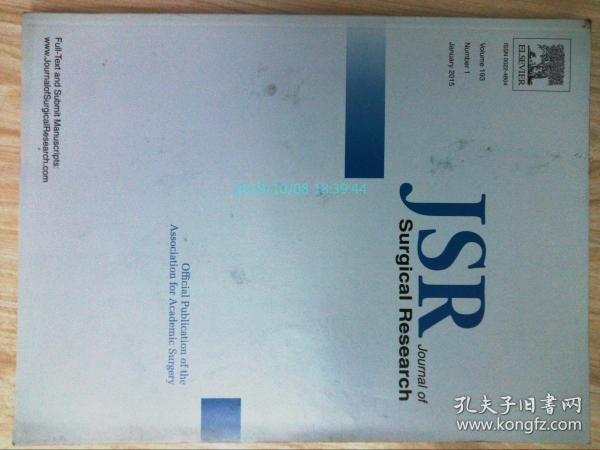 Journal of Surgical Researc (JSP)VO.193  NO.1 01/2015医学