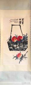 陈左黄     纯手绘          国画         (卖家包邮)工艺品
