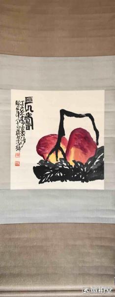 欧阳笃材        纯手绘          国画         (卖家包邮)工艺品