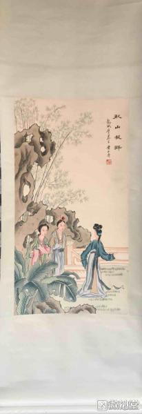 黄山寿     纯手绘          国画         (卖家包邮)工艺品