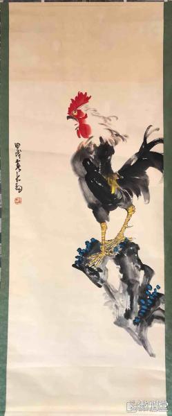 陈大羽         纯手绘             国画         (卖家包邮)工艺品