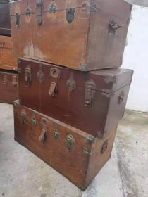 七八十年代樟木箱子