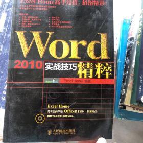 Word 2010实战技巧精粹 无盘