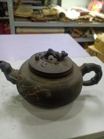 紫砂壶(280cc左右)盖子不原配