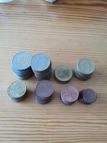 欧元 硬币