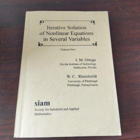 Iterative solution of nonlinear equations in several variables(volume one,two)