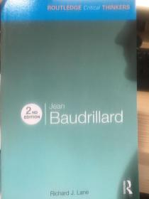 routledge critical thinkers: jean baudrillard