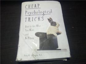 CHEAP PSYCHOLOGICAL TRICKS 1996年 32开硬精装 原版外文 图片实拍