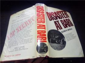 DISASTER AT BARI 1971年 大32开硬精装 原版外文 图片实拍