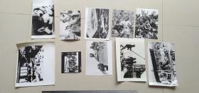 12   ----- 20张或20张以上如图全部--合拍----黑白老照片老相片===包老保真    新华社新闻发表照片存底---非常罕见  绝无仅有  基本都发表过  大小见图片50厘米直尺  多数尺寸大