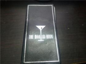 The Martini book 银边1997年 软精装 原版外文 图片实拍