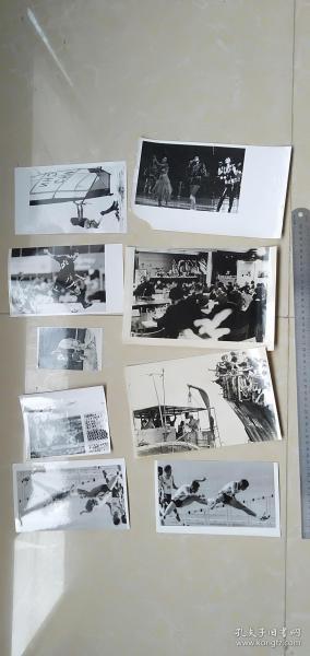 9   ----- 20张或20张以上如图全部--合拍----黑白老照片老相片===包老保真    新华社新闻发表照片存底---非常罕见  绝无仅有  基本都发表过  大小见图片50厘米直尺  多数尺寸大