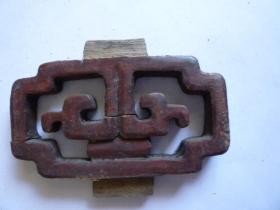 民国 橱窗等雕刻板(10.5×6)