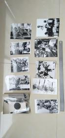 8   ----- 20张或20张以上如图全部--合拍----黑白老照片老相片===包老保真    新华社新闻发表照片存底---非常罕见  绝无仅有  基本都发表过  大小见图片50厘米直尺  多数尺寸大