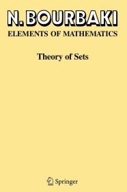 预订 Elements of Mathematics: Theory of Sets N. Bourbaki 英文原版  数学原理     布尔巴基