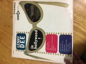 原版外文黑胶唱片 STEREOPHONIC LENNY DEE IN HOLLYWOOD  运费一律请选快递