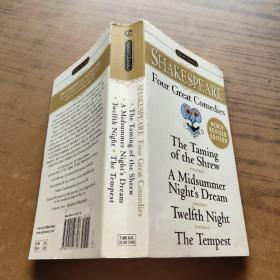 Four Great Comedies:The Taming of the Shrew; A Midsummer Night's Dream; Twelfth Night; The Tempest (Signet Classics)