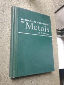 MECHANICAL PROPERTIES OF METALS 《金属的机械性能》