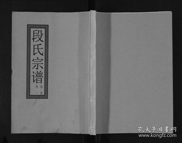 段氏宗谱[7卷]