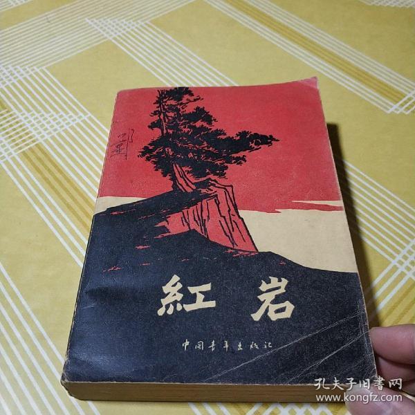 红岩 罗广斌 杨益言着 插图本 中国青年出版社 1961年版1977福建一印