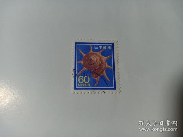 日本邮票 60 贝壳 1981年