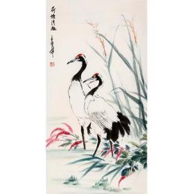 倪萍『荷塘清趣』写意花鸟