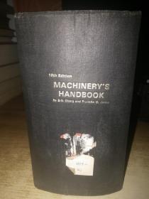 MACHINERYS HANDBOOK(英文)机械手册 第19版 精装本【馆藏】