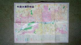 旧地图-山西省导游图太原交通导游图(2007年9月10印)4开8品