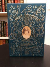 《Alices Adventures Underground》Folio Society 真皮限量本