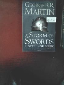 英文原版 A Storm of Swords: Steel and Snow: Book 3 Part 1 of a Song of Ice and Fire