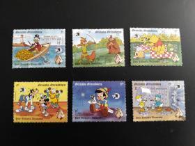 迪士尼 卡通邮票 4