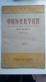 1961年,中国历史教学挂图,现代史都分,五卅运动。。。。