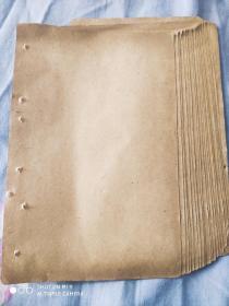 民国线装书皮纸25张合售(尺寸20cmX13.3cm)