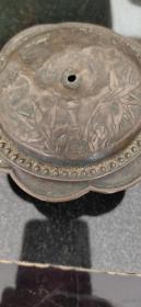 清代铜盖碗