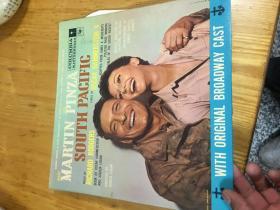原版外文黑胶唱片 MARTIN PINZA SOUTH PACIFIC   运费一律请选快递,以图为准