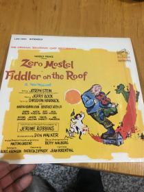 原版外文黑胶唱片  RCA VICTOR FIDDLER ON THE ROOF 运费一律请选快递,以图为准