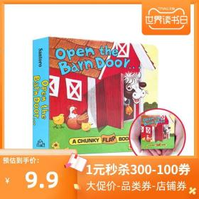 Open the Barn Door:A Chunky Flap Book