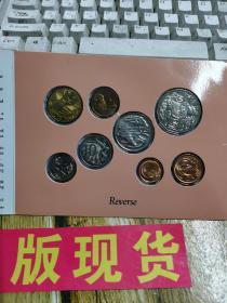 AustrAⅠiAN套未流通澳大利亚硬币共8枚