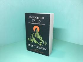 预售未完成的故事圆弧书脊英版平装配同款魔戒unfinished tales
