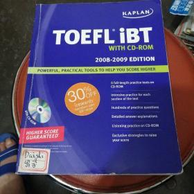 Kaplan Toefl Ibt with CD-Rom,2008-2009 Editon