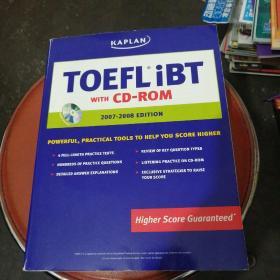 Kaplan Toefl Ibt with CD-Rom,2007-2008 Editon