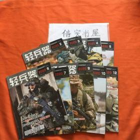 轻兵器(月刊)2020年1-12期(有卡片),缺1、8月,共计10本,可拆开卖