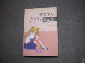 语文学习365个怎么办 【手册无字无印一版一印】