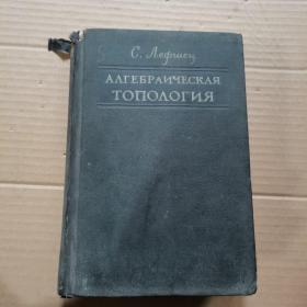 俄文  代数拓朴学