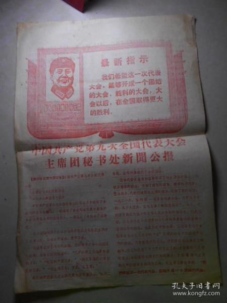 """""""九大""""新闻公报"""