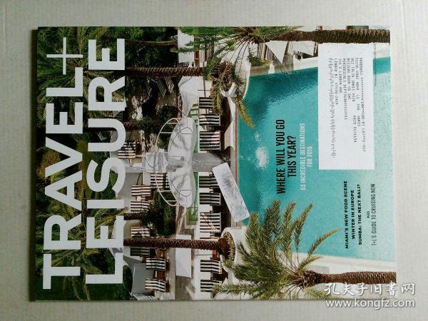 TRAVEL+LEISURE 2015/01 美国旅行休闲漫旅悦旅原版英外文杂志期刊